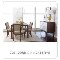COS - DORIS DINING SET (1+6)